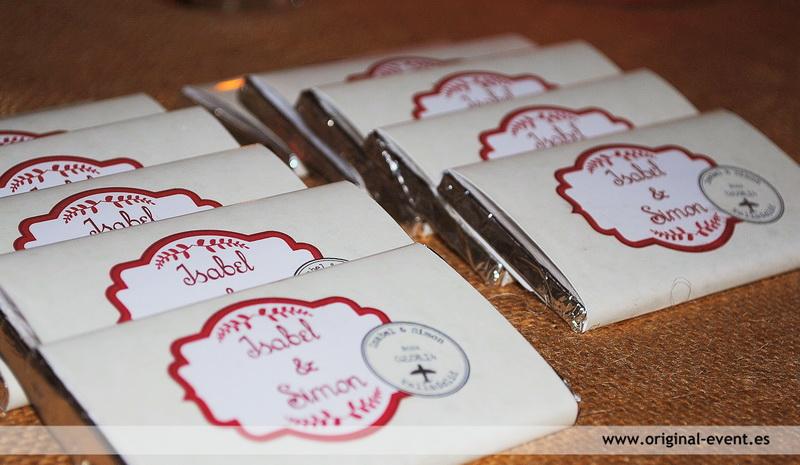 Boda viajes candy bar chocolatinas personalizadas - Etiquetas para velas ...