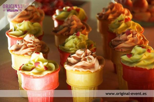 63 cupcakes helados