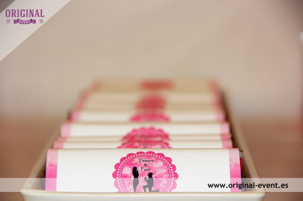 Chocolatinas personalizadas candy bar