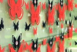 Mapa mesas mariposas perspectiva