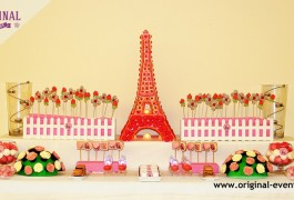 candy bar torre eiffel