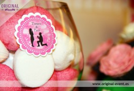 toppers personalizados candy bar