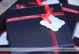 Caja invitación boda original