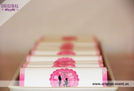 Chocolatinas personalizadas candy bar