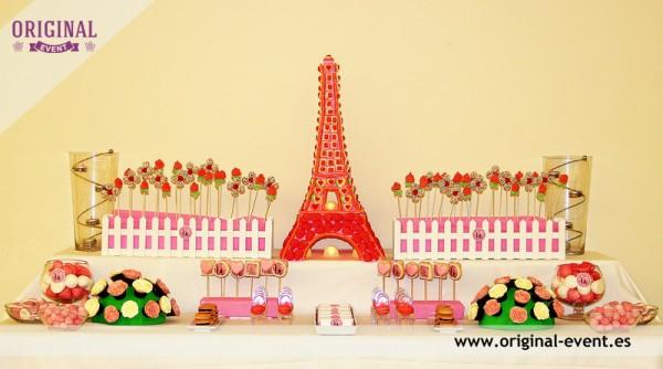 candy bar torre eiffel